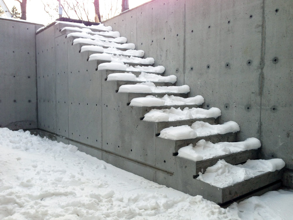 cast in place concrete stairs bulletin unit 7 architecture
