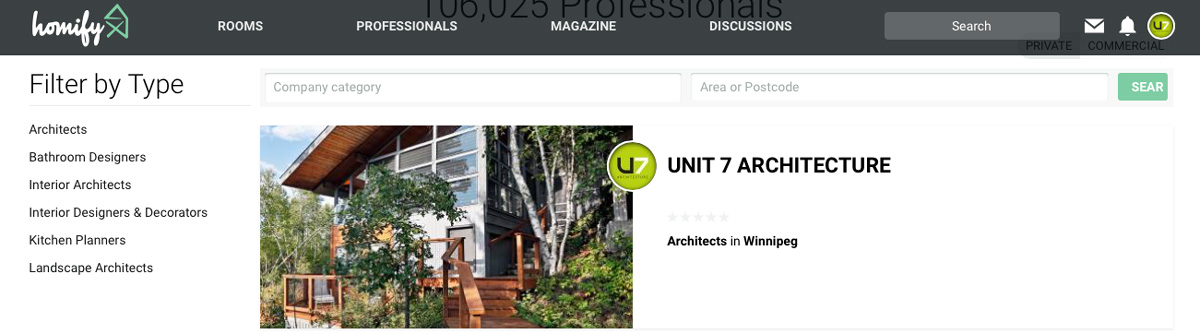 Homily features 5 Unit 7 Architecture projects for online magazine