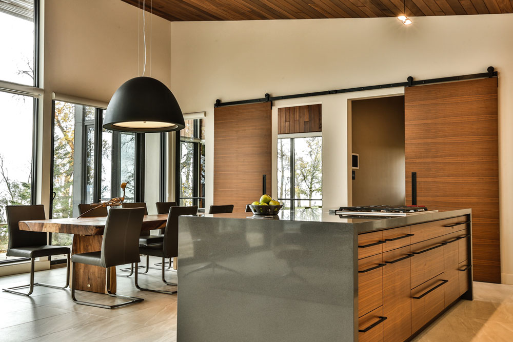 Unit 7 Architecture | Projects - Winnipeg Beach Summer Home - KITCHEN & DINING SPACE