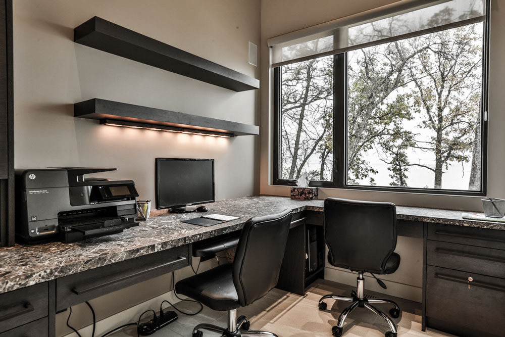Unit 7 Architecture | Interiors - Winnipeg Beach Summer Home - OFFICE
