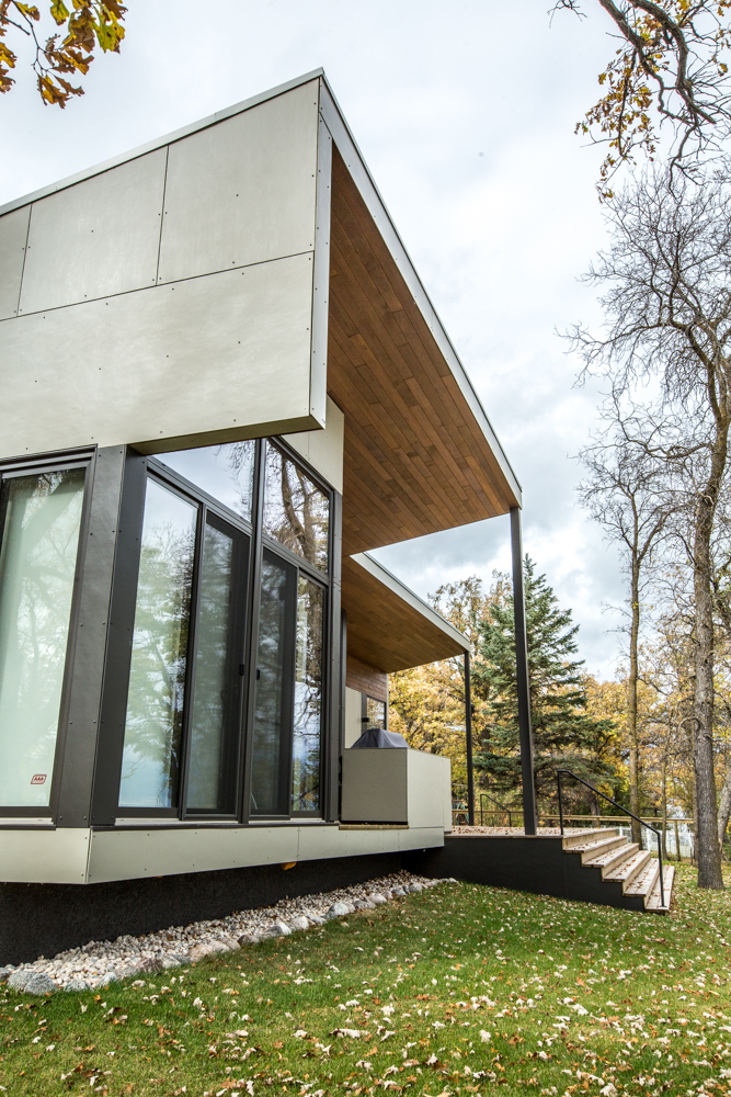 Unit 7 Architecture | Residential - Winnipeg Beach Weekend Home