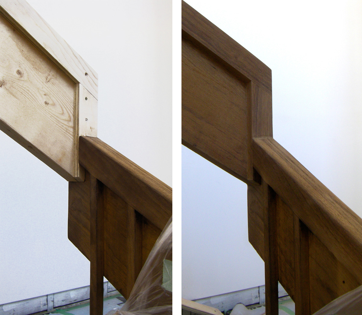 Unit 7 Architecture | Residential - Victoria Beach Summer Home V - BEFORE & AFTER RAILING DETAIL
