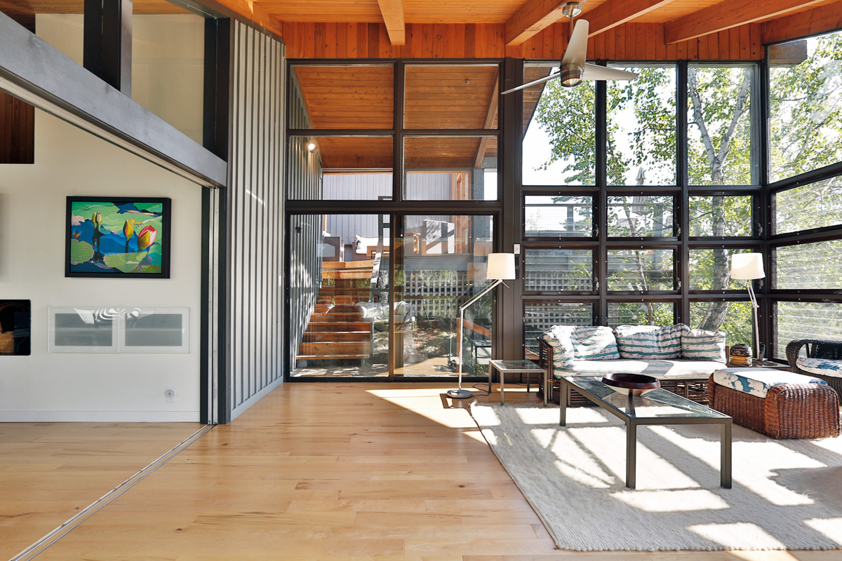 Unit 7 Architecture | Projects - West Hawk Lake Summer Home