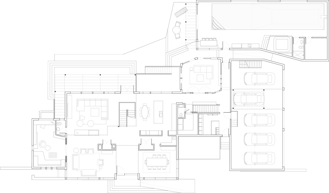 Unit 7 Architecture | Projects - Grenfell Residence WP - MAIN FLOOR PLAN