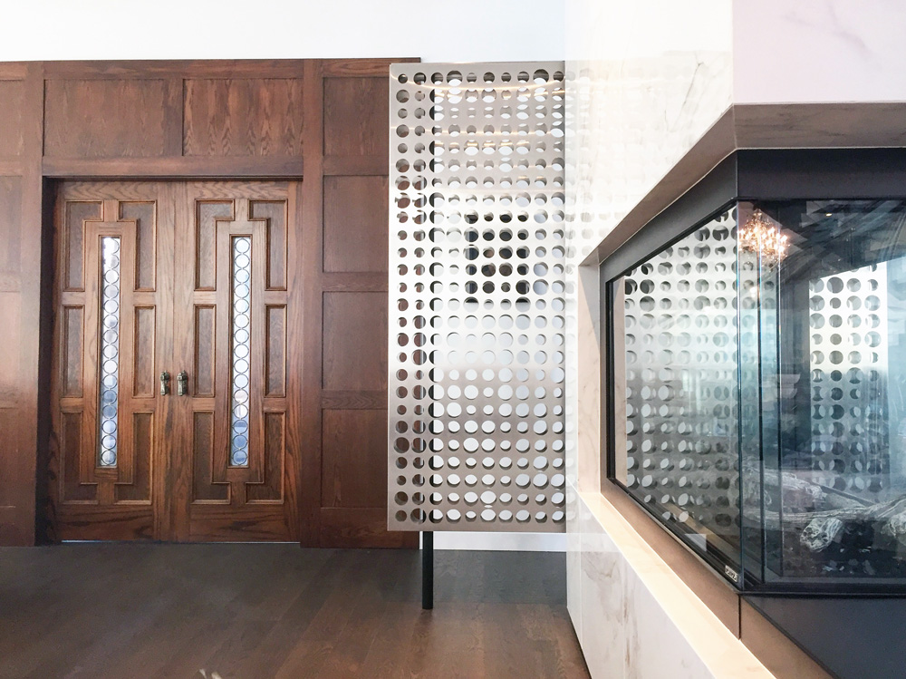 Unit 7 Architecture | Projects - WP Fireplace & Privacy Screen