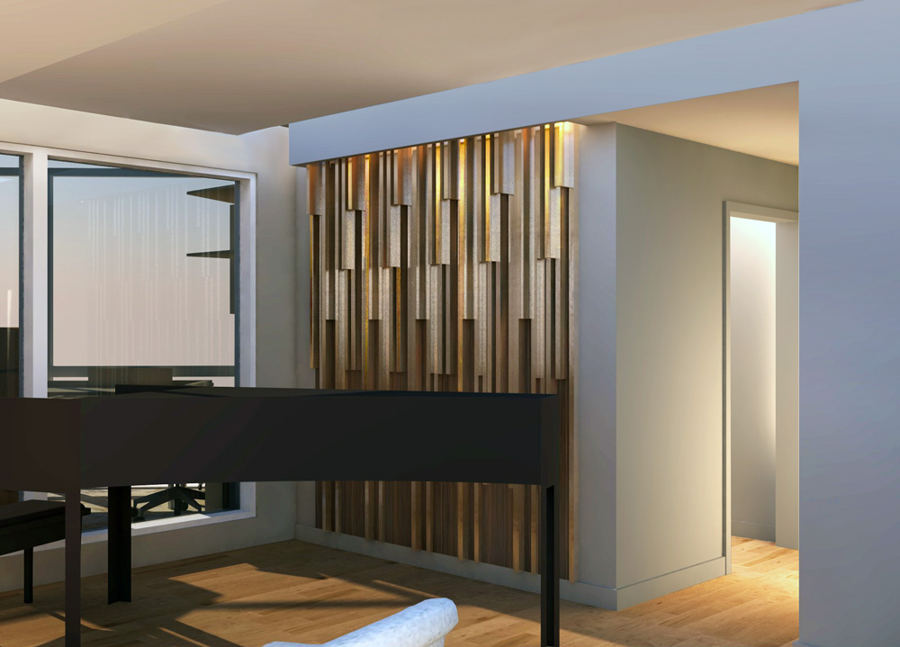 Unit 7 Architecture | Projects - Condo Acoustic Wall