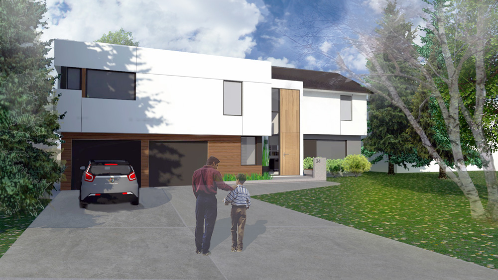 Unit 7 Architecture   Projects - Ramsgate Residence Exterior - AFTER