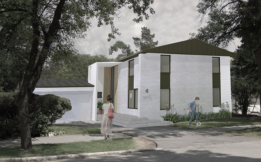 Unit 7 Architecture   Projects - Boreham Residence Exterior