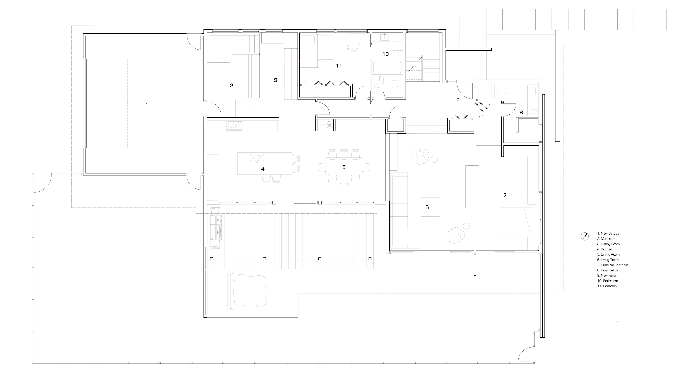 Unit 7 Architecture | Residential - Oak Street Mid Century