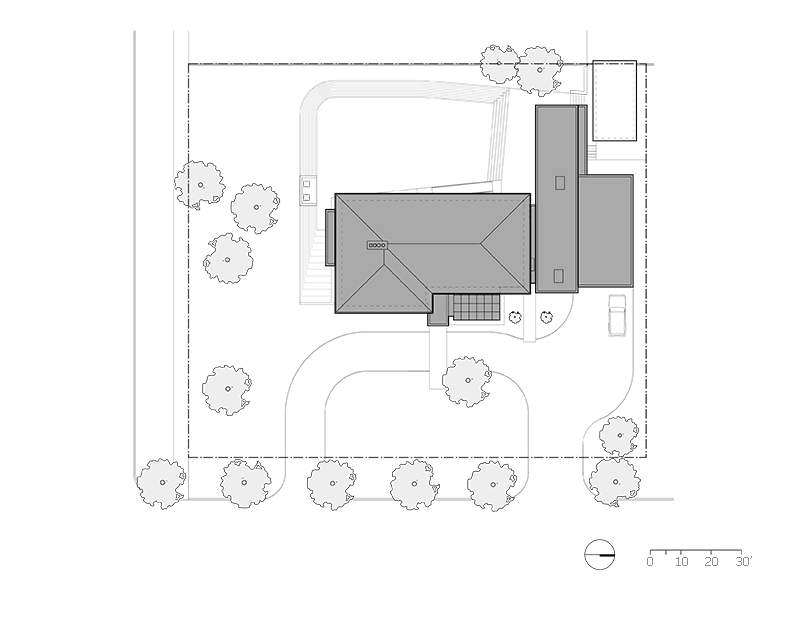 Unit 7 Architecture | Residential - Handsart Residence ZT - SITE PLAN