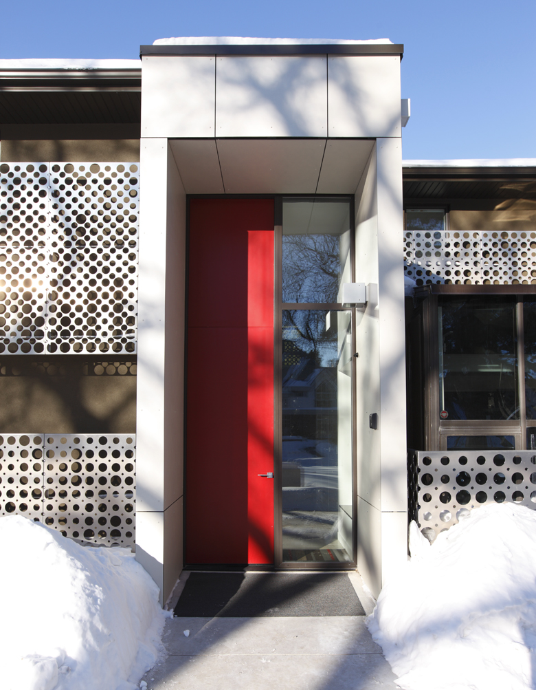 Unit 7 Architecture | Residential - Handsart Residence ZT - FRONT ENTRANCE