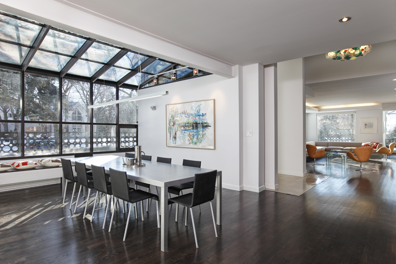 Unit 7 Architecture | Residential - Handsart Residence ZT - DINING ROOM AND LIVING ROOM