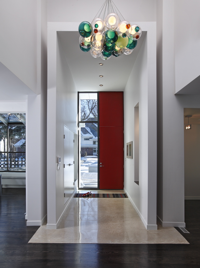 Unit 7 Architecture | Projects - Handsart Residence ZT - ENTRANCE VESTIBULE