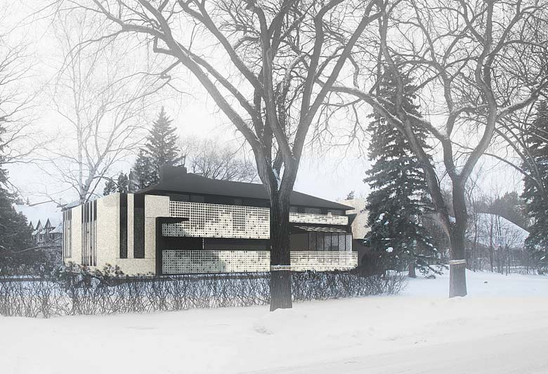 Unit 7 Architecture | Residential - Handsart Residence ZT - WINTER RENDERING