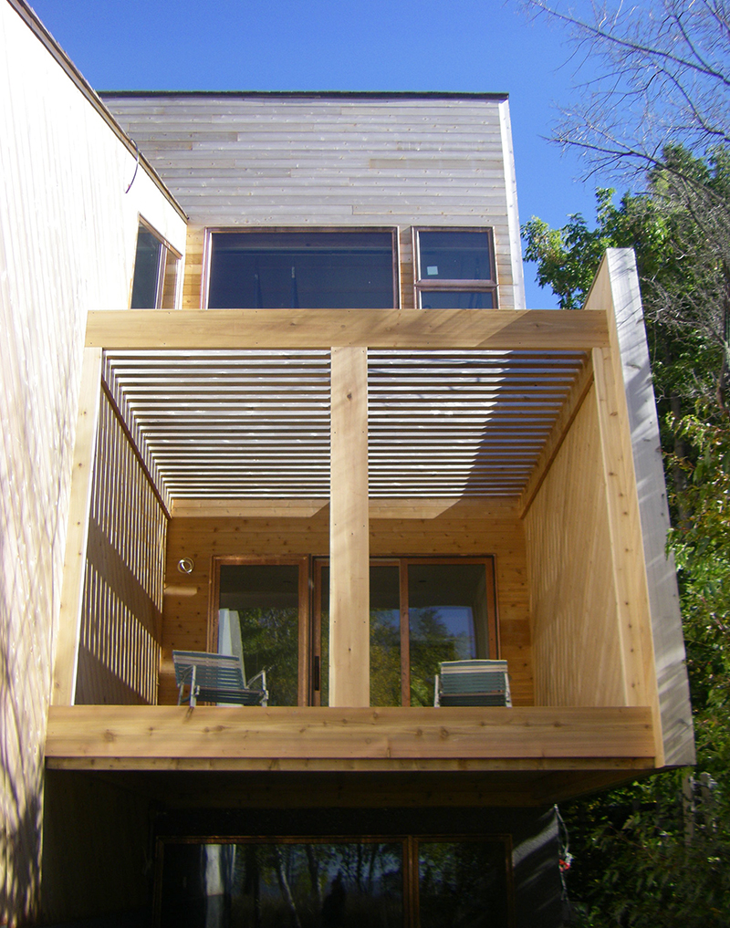 Unit 7 Architecture | Projects - Victoria Beach Summer Home V - SUNROOM FACING THE LAKE