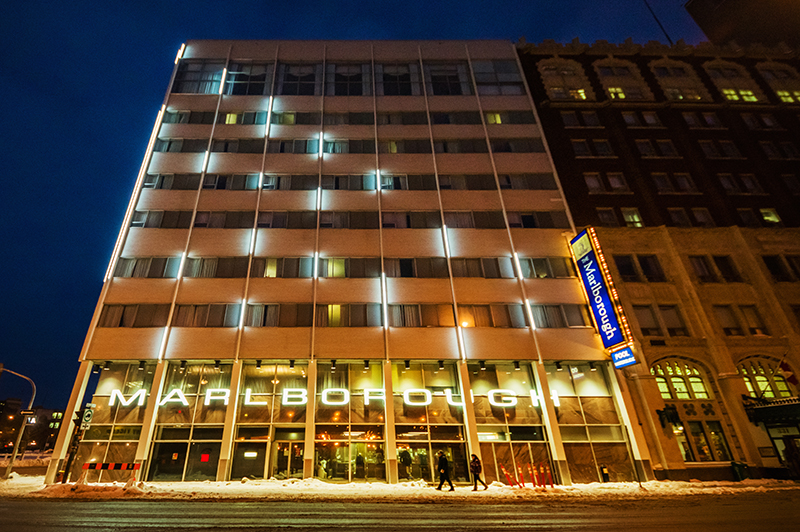 Unit 7 Architecture | Projects - Marlborough Hotel - VIEW FROM SMITH ST.