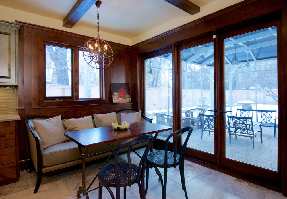 Unit 7 Architecture | Projects - Roslyn Crescent Residence - BREAKFAST NOOK