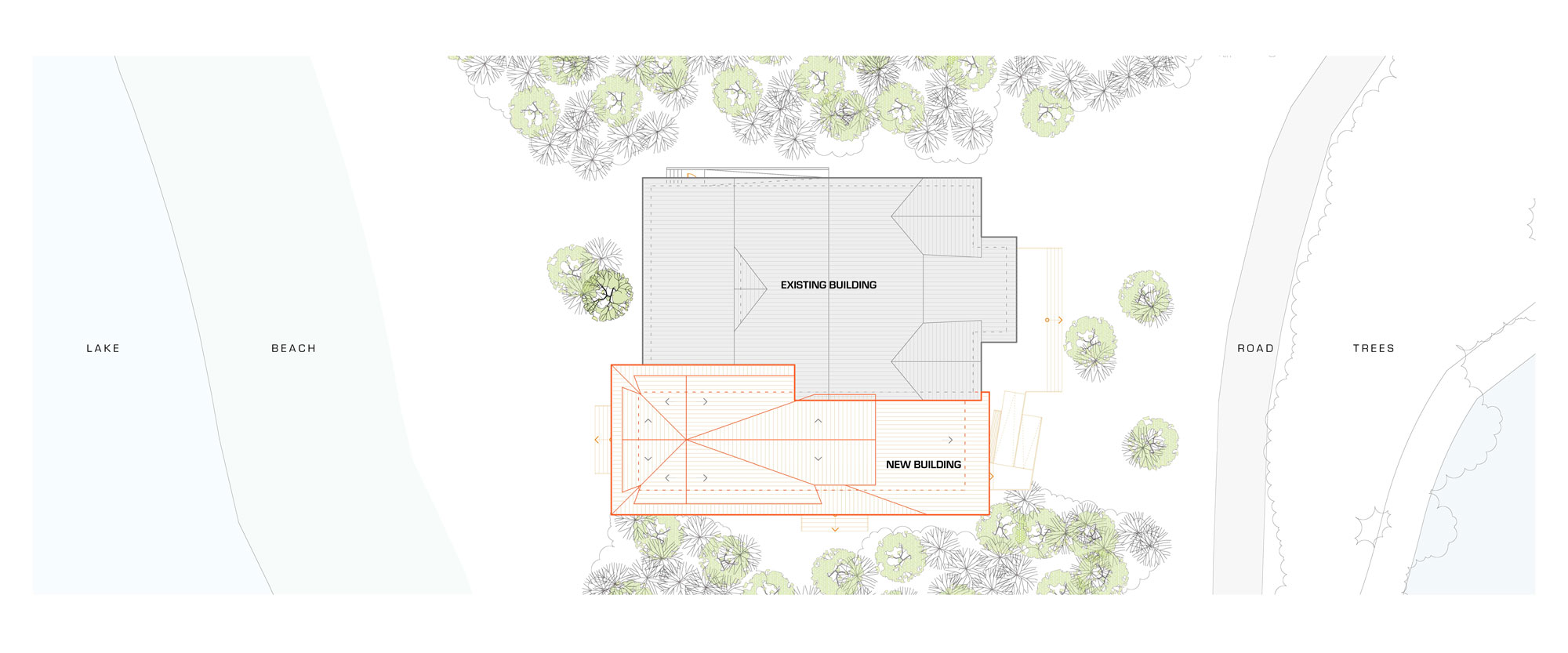 Unit 7 Architecture | Projects - Victoria Beach Clubhouse - SITE PLAN