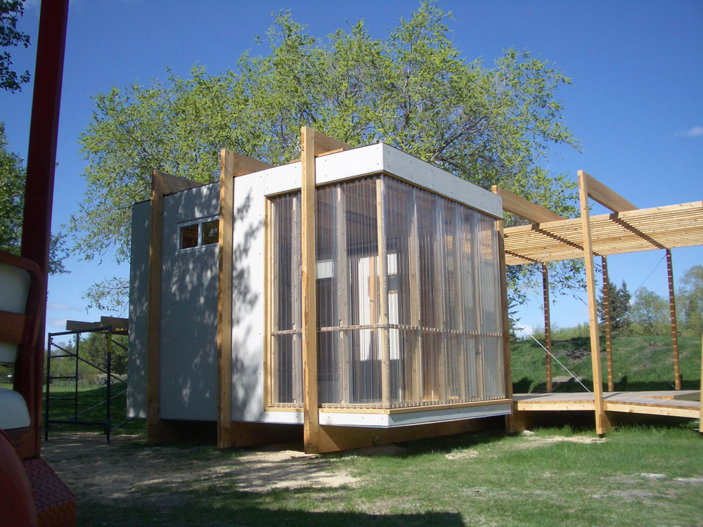 Unit 7 Architecture | Projects - Assiniboine Zoo Garden Shed