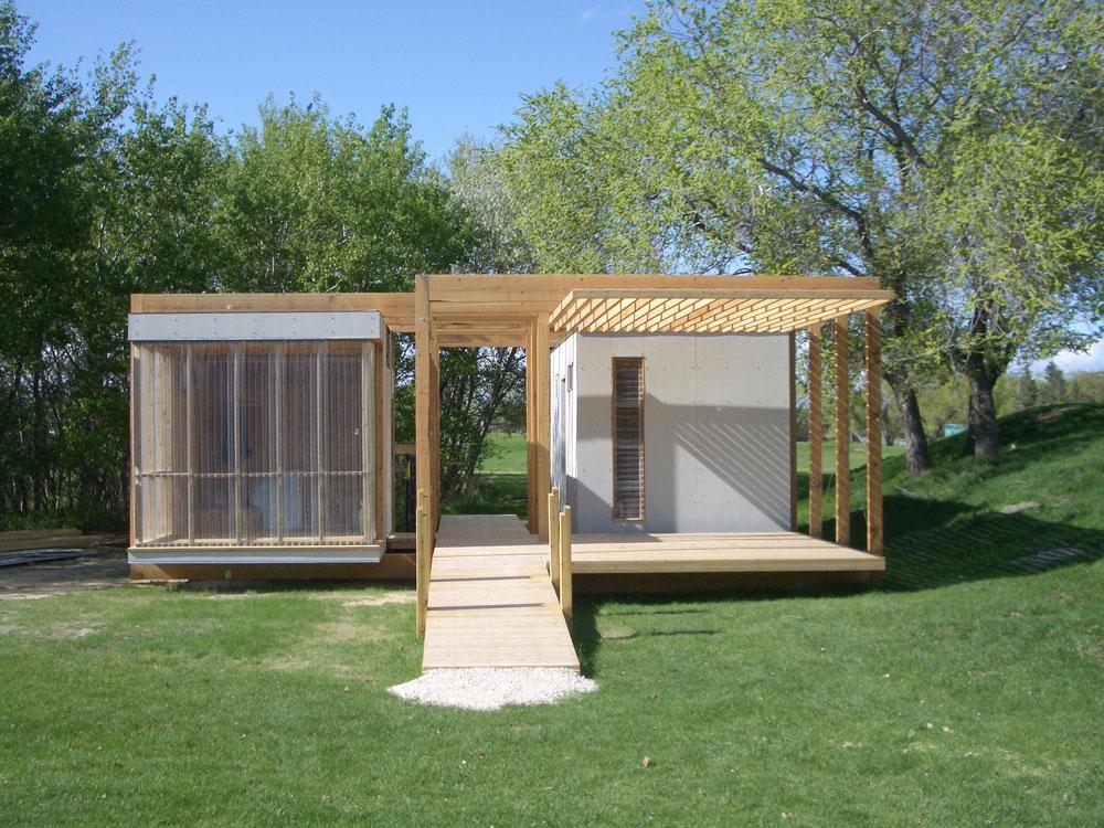 Unit 7 Architecture | Projects - Assiniboine Park Garden Shed