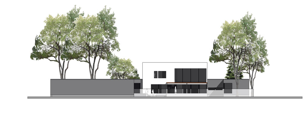 Unit 7 Architecture | Projects - Grenfell Residence WP - REAR EXTERIOR RENDERING